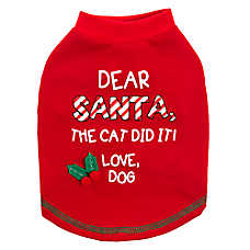 "Pet Holiday™ ""The Cat Did It"" Dog Tee"