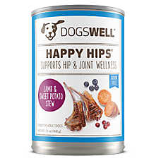 DOGSWELL® HAPPY HIPS® Adult Dog Food - Grain Free, Lamb & Sweet Potato Stew