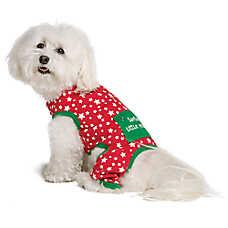 "Pet Holiday™ ""Santa's Little Yelper"" Christmas Dog PJs"
