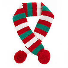 Pet Holiday™ Stripe Knit Pet Scarf