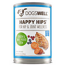 DOGSWELL® HAPPY HIPS® Adult Dog Food - Grain Free, Chicken & Sweet Potato Stew