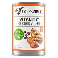 DOGSWELL® Vitality Dog Food - Grain Free, Chicken & Sweet Potato Stew
