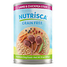 DOGSWELL® Nutrisca Dog Food - Grain Free, Lamb & Chickpea Stew