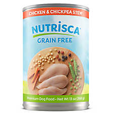 DOGSWELL® Nutrisca Dog Food - Grain Free, Chciken & Chickpea Stew