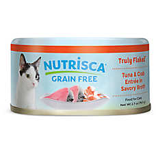 DOGSWELL® Nutrisca Cat Food - Grain Free, Tuna & Crab