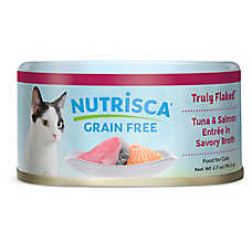 DOGSWELL® Nutrisca Cat Food - Grain Free, Tuna & Salmon