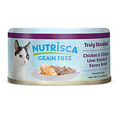 DOGSWELL® Nutrisca Cat Food - Grain Free, Chicken & Liver