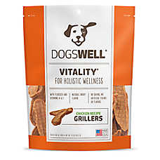 DOGSWELL® HAPPY HIPS® Grillers Dog Treat - Grain Free, Chicken