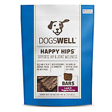 DOGSWELL® HAPPY HIPS® Bars Dog Treat - Grain Free, Lamb