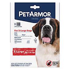PetArmor® for Dogs 89-132 lbs Flea & Tick Spot On Treatment - 3 Count