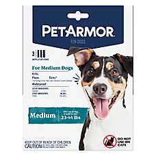PetArmor® Flea & Tick Spot On Treatment for Dogs - 3 Count