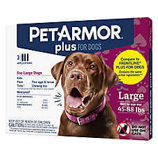 PetArmor® Plus 45-88LB Flea & Tick Dog Protection