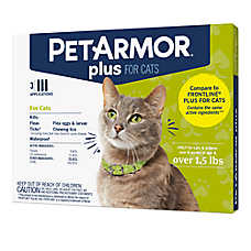 PetArmor® Plus Over 1.5lbs Cat Flea & Tick Treatment