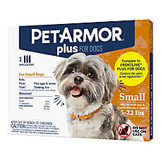 PetArmor® Plus 4-22LB Flea & Tick Dog Protection