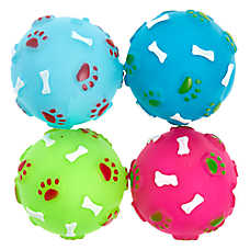 Pet Holiday™ Ball Dog Toys - 4 Pack