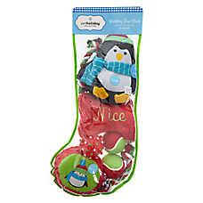 Pet Holiday™ Penguin Dog Toys - 8 Pack Stocking