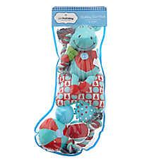 Pet Holiday™ Moose Dog Toys - 8 Pack Stocking