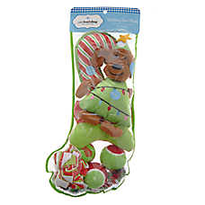 Pet Holiday™ Dog Tree Dog Toys - 8 Pack Stocking