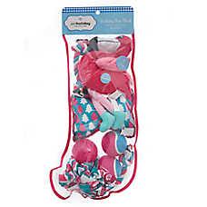 Pet Holiday™ Flamingo Dog Toys - 8 Pack Stocking