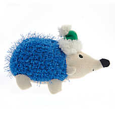 Top Paw® Holiday Hedgehog Dog Toy - Plush, Squeaker