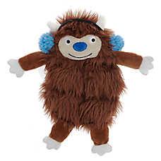 Top Paw® Holiday Bigfoot Mat Dog Toy - Plush, Squeaker