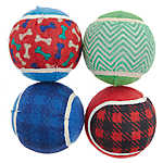 Top Paw® Holiday Tennis Ball Dog Toys - 4 Pack