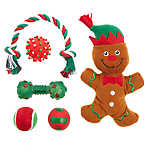 Top Paw® Holiday Gingerbread Dog Toys - 6 Pack