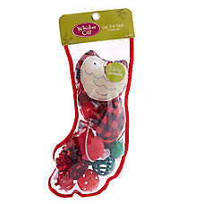 Whisker City® Holiday Owl Cat Toys - 12 Pack Stocking
