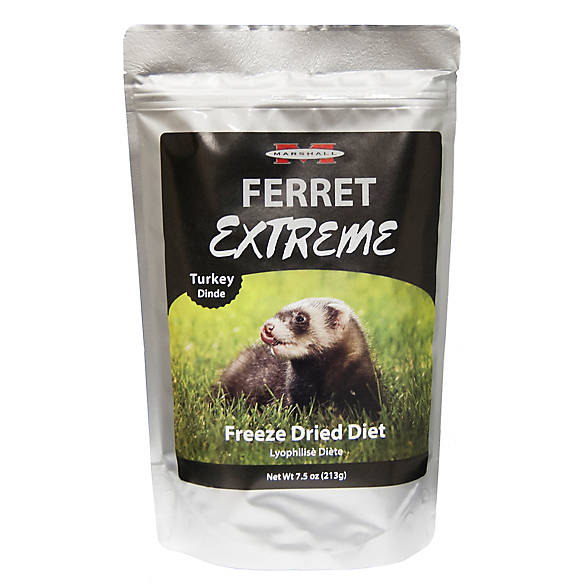 Marshall Extreme Freeze Dried Ferret Diet