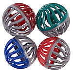 Whisker City® Holiday Bell Ball Cat Toys - 4 Pack