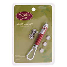 Whisker City® Holiday Glitter 3-Tip Laser Cat Toy