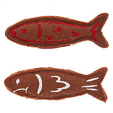 Grumpy Cat® Gingerbread Fish Cat Toys