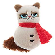 Grumpy Cat® Holiday Snowman Cat Toy - Plush