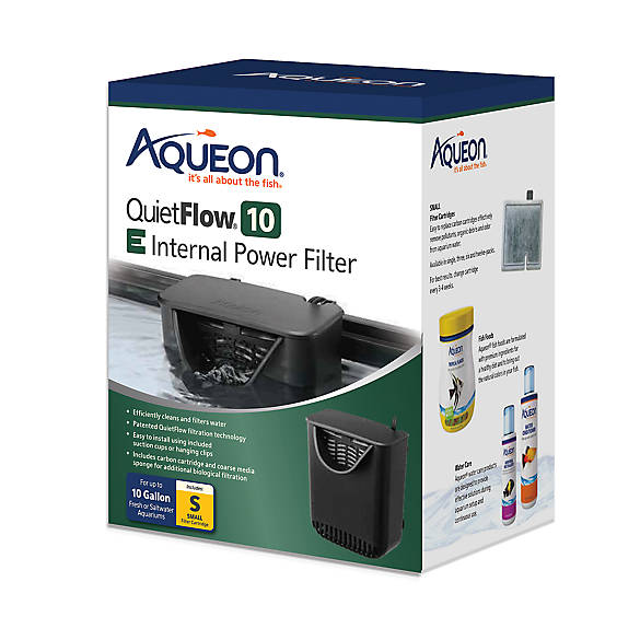 Aqueon quietflow internal power filter fish filters for Petsmart fish filters