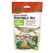 Zilla® Reptile Vegetable with Calcium Munchies
