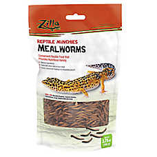 Zilla® Reptile Mealworm Munchies
