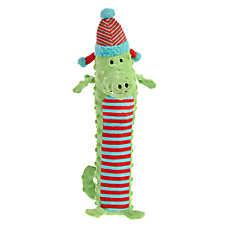 Pet Holiday™ Gator Bottle Crunch Dog Toy - Plush