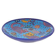 Whisker City® Ceramic Cat Saucer