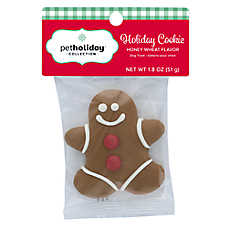Pet Holiday™ Gingerbread Man Holiday Cookie Dog Treat