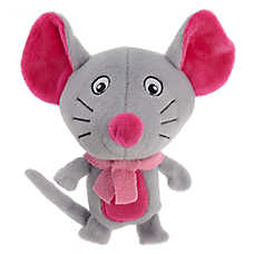 Pet Holiday™ Mouse Dog Toy - Plush, Squeaker