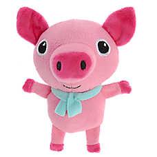 Pet Holiday™ Pig Dog Toy - Plush, Squeaker