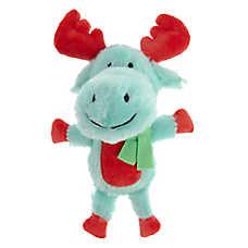 Pet Holiday™ Moose Dog Toy - Plush, Squeaker
