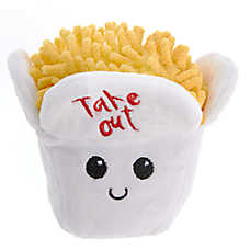 Pet Holiday™ Take-Out Dog Toy - Plush, Squeaker