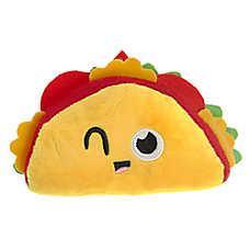 Pet Holiday™ Taco Dog Toy - Plush, Squeaker