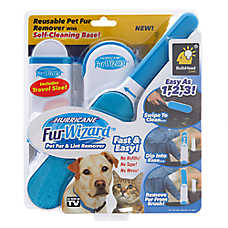As Seen on TV Hurricane™ Fur Wizard™ Pet Fur & Lint Remover