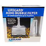 Lifegard® Aquatics Mini-Bubble Filter