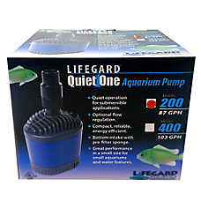 Lifegard® Aquatics Quiet One 200 Pro Series Aquarium Pump