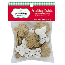 Pet Holiday™ Holiday Cookies Dog Treat - Peppermint