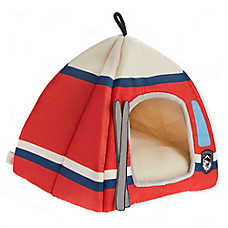 ED Ellen DeGeneres Ski Lodge Hut Pet Bed
