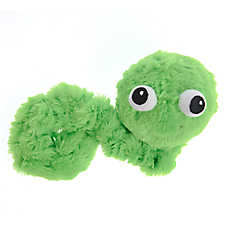 Pet Holiday™ Bungee Worm Dog Toy - Plush, Squeaker